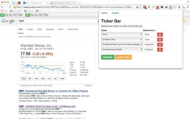Stock Ticker For Chrome Chrome Web Store