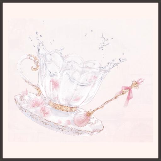 桜のティーカップ