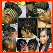 Braided Hair Style - Braid Hairstyle Woman & Child