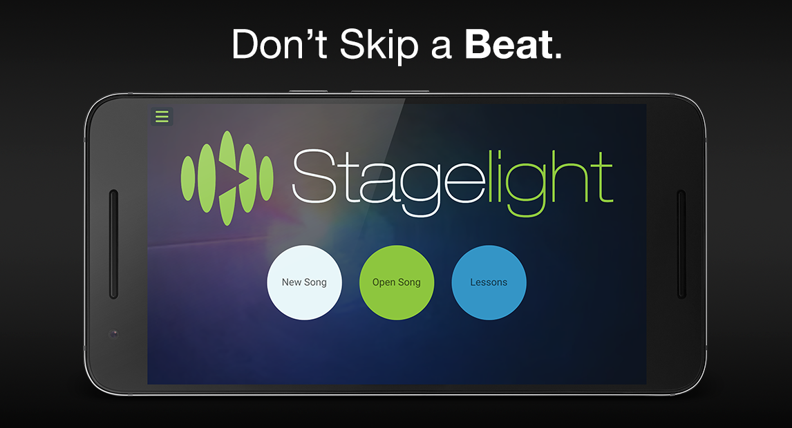Stagelight: Audio and MIDI DAW- screenshot