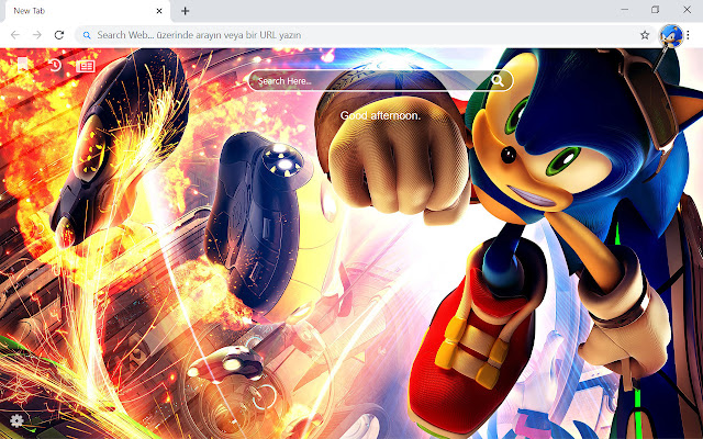 Mario VS Sonic Olympic HD Wallpapers New Tab