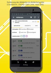 BVG FahrInfo Plus- screenshot thumbnail