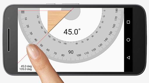 Smart Protractor Lite screenshot 1
