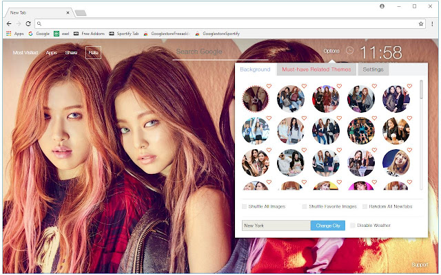 Kpop Blackpink Hd Wallpapers New Tab Themes Free Addons