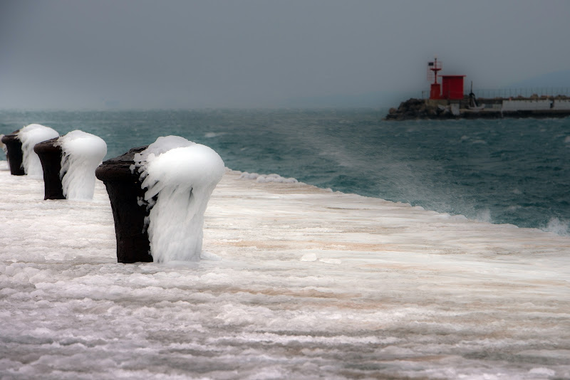 quando si ghiaccia anche l'acqua del mare ... di Winterthur58