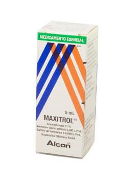 Maxitrol Gotas Frasco   X5Ml Nov Dexametasona Neomicina Polimixina Bhi