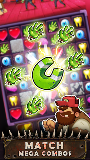 Zombie Puzzle - Match 3 RPG Puzzle Game 1.27.9 screenshots 2