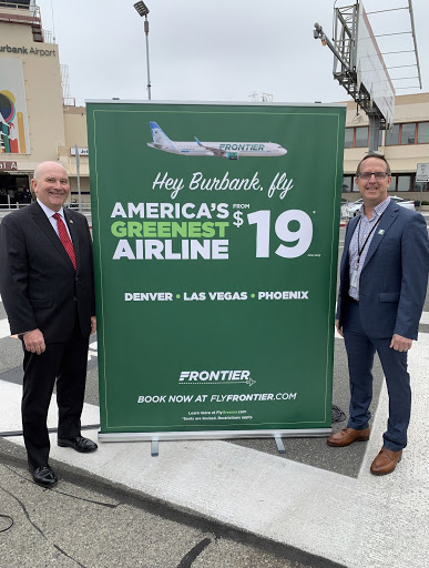 Frontier Airlines to exit LAX by September, expands at L.A. satellite airports