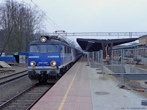 """Photo: EP07-1060, TLK """"Wieniawski"""" Bydgoszcz Główna - Lublin {Toruń Główny; 2015-01-24}"""