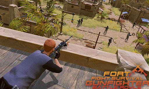 Fort Fight Survival Gunfighter-Battle Royle 1.1 screenshots 1
