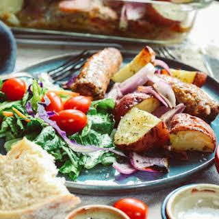 Sausage and Potato Casserole.