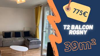 Appartement 2 pièces 38,78 m2