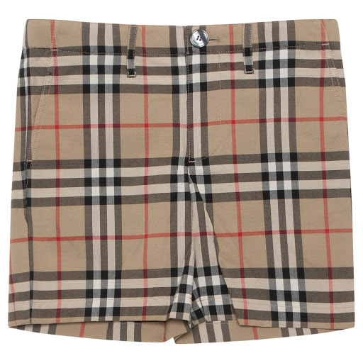 Primary image of Burberry Boys Checked Shorts