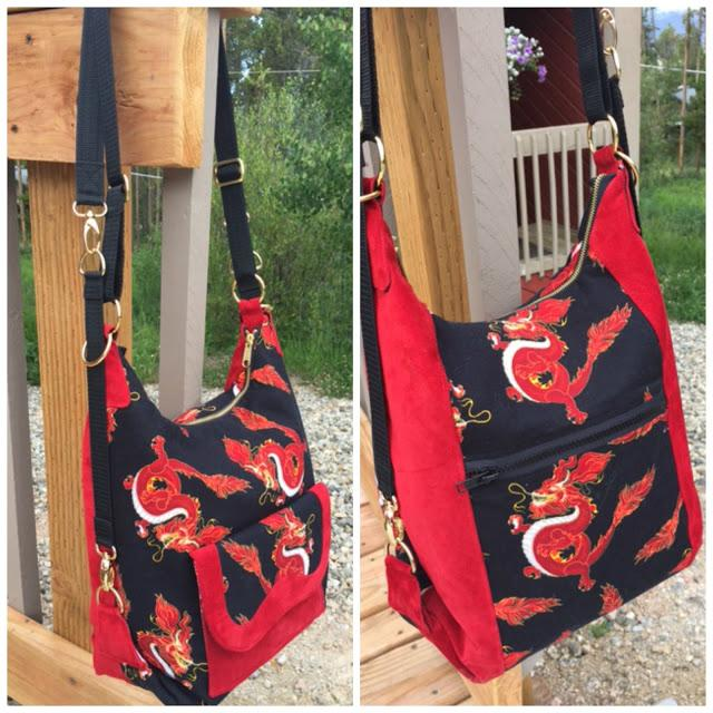 Cosmo Convertible Bag Sew Along Week 2: Construction