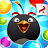 Angry Birds POP Bubble Shooter logo