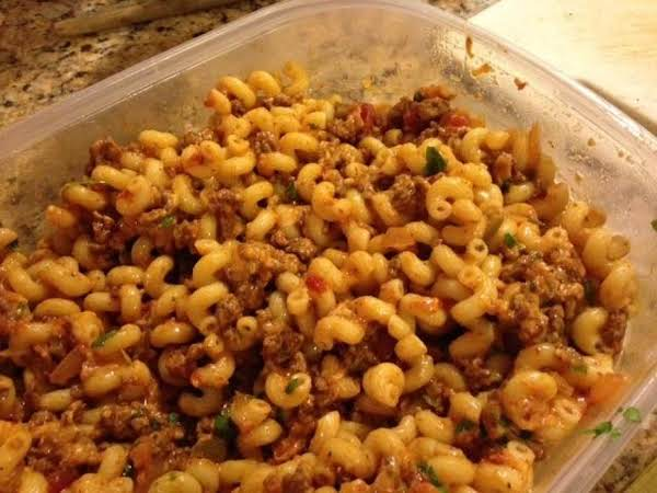 Tex-mex Cavatappi Recipe