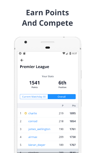 Forscore - Football Predictor 2.4.0 screenshots 2