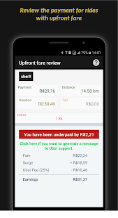 Driver Earnings for Uber - náhled