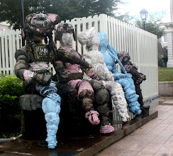 Photo: Year 2 Day 136 Unusual Sculpture Outside the National Museum