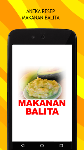 Resep Makanan Balita