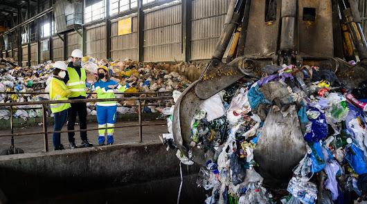 El 70% de los residuos que llegan a la Planta de Reciclaje tienen segunda vida