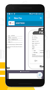 iFax - Easy Way To Send & Receive Fax from Phone- screenshot thumbnail