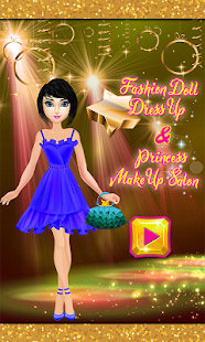 Fashion Doll Dress up & Princess Makeup Salon - náhled
