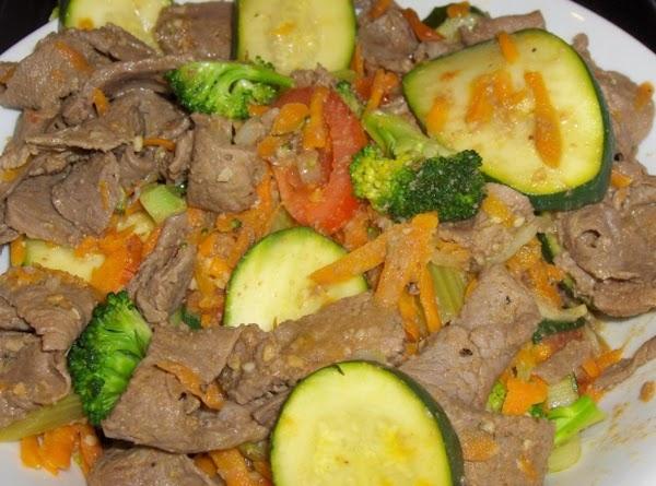 Sirloin & Veggie Toss Recipe