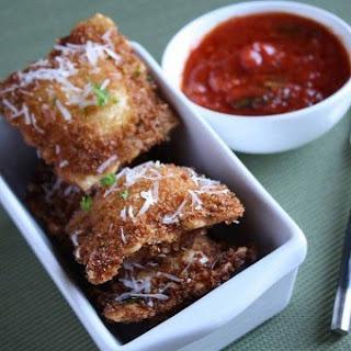 Crunchy Ravioli Bites.