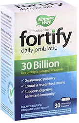 Nature's Way Primadophilus Fortify Daily Probiotic - 30 Billion, 30 Vcaps