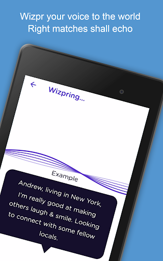 Wizpr - anonymous, listen to chat, text and date 1.0.44 screenshots 9