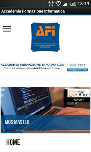 Accademia Formazione Inform 1.0 screenshots 1