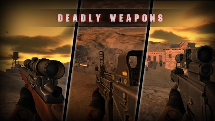 Desert Sniper Invisible Killer - screenshot