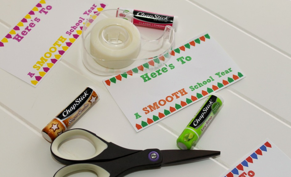 """Here's to a Smooth Year"" first day of school gifts supplies"