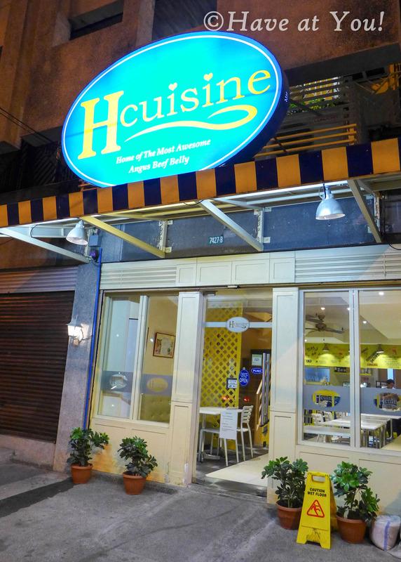 H Cuisine branch along Yakal Street