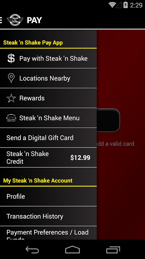 Steak 'n Shake- screenshot