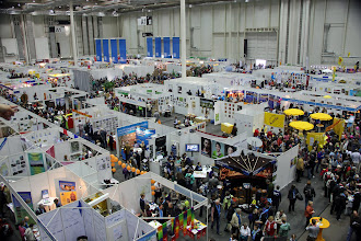 """Photo: Just one of several Exhibition Halls offering """"A Market of Possibilities"""""""