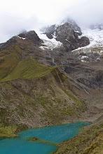 Photo: La laguna y el glaciar Mollepata - Machupichu Semana Santa 2015