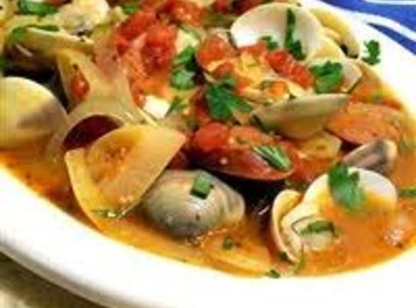 Portuguese Steamed Clams Recipe