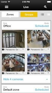 Prosegur Cloud Video - náhled