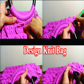 Design knit bag