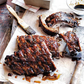 Sticky Orange Sweet And Sour Ribs.