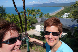 Photo: View of Fourmile beach, Port Douglas, from Lookout Hill.