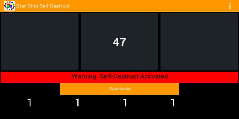 Скриншот Starship Self Destruct