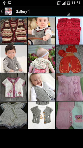 Crochet Pattern Baby Vests|玩生活App免費|玩APPs