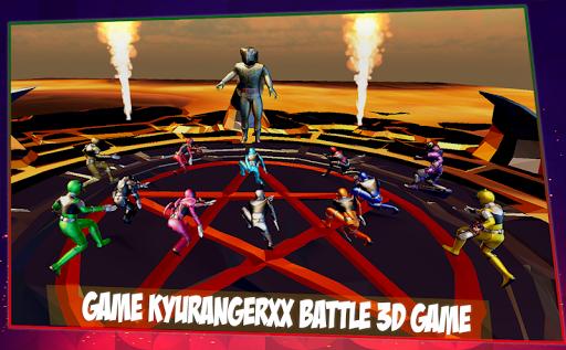 Sentai Kyuranger Fighter Heroes Legend Battle Screenshot