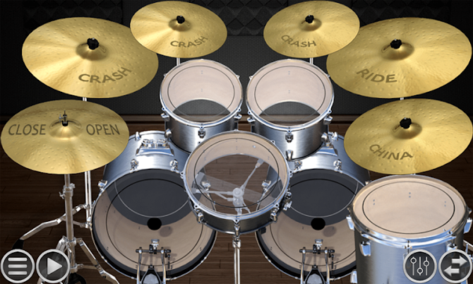 Simple Drums Basic - Realistic Drum App Android 2