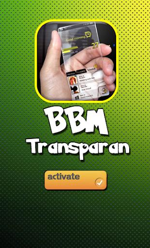 BBM Transparan for PC