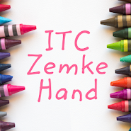 Zemke Hand FlipFont 2 1 latest apk download for Android • ApkClean