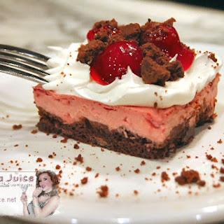 Black Forest Recipe – Chocolate Cherry Cheesecake Dream Bars.